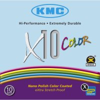 KMC X10 COLORチェーン