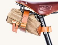 TANNER GOODS COURIER SADDLE BAG(FIELD TAN)