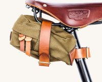 TANNER GOODS COURIER SADDLE BAG(OLIVE DRAB)
