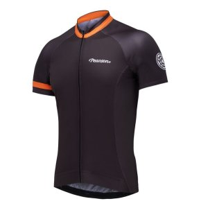 "画像1: ""SALE""Pearson Tangerine Dream Cycling Jersey (BLACK)"