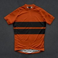 """SALE"" Twinsix Men's The Forever Foward (ORANGE) Cycle Jersey"