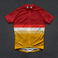 Twinsix Men's The Soloist (RED) Cycle Jersey