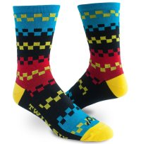 TWIN SIX Checkerboard Sock