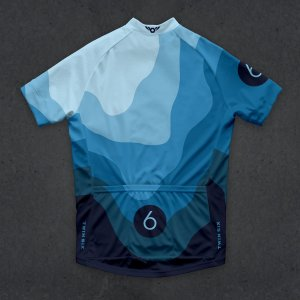 画像2: Twinsix Men's The HC (Blue) Cycle Jersey