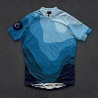 Twinsix Men's The HC (Blue) Cycle Jersey