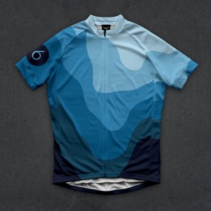 画像1: Twinsix Men's The HC (Blue) Cycle Jersey