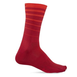 画像1: GIRO COMP RACER HIGHT RISE Red 6 String SOCKS