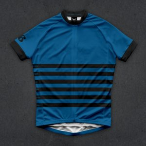画像1: Twinsix Men's THE POWER OF SIX(BLUE) JERSEY