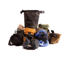 Outer Shell Roll top Saddle bag