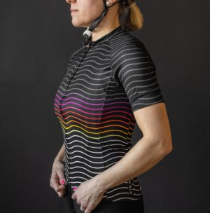 画像3: Twinsix THE ROLLERS(BLACK) Women's Cycle Jersey