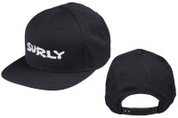 SURLY LOGO SNAPBACK CAP(BLACK/WHITE)