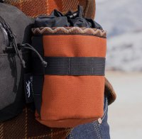 """""""CAMP AND GO SLOW × SWIFT INDUSTRIES"""" LIMITED COLLECTION SIDEKICK POUCH(RUST)"""